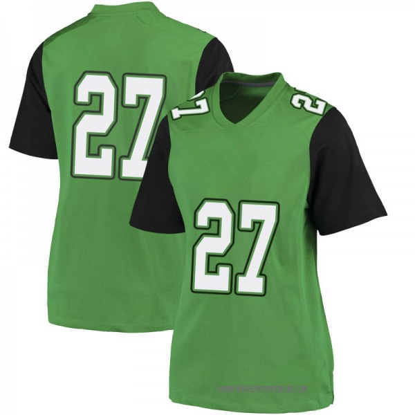 Women's Jaylyn Lomax Marshall Thundering Herd Nike Game Green Football College Jersey