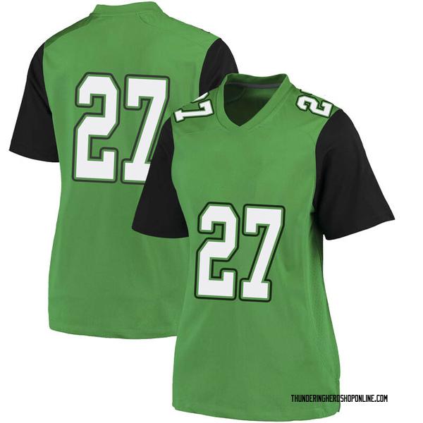 Women's Jaylyn Lomax Marshall Thundering Herd Nike Replica Green Football College Jersey