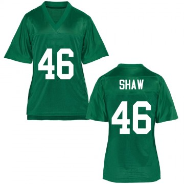 Women's Tyler Shaw Marshall Thundering Herd Game Green Football College Jersey