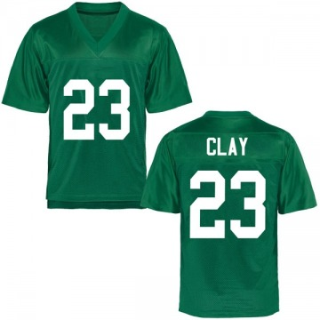 Youth Chad Clay Marshall Thundering Herd Game Green Football College Jersey