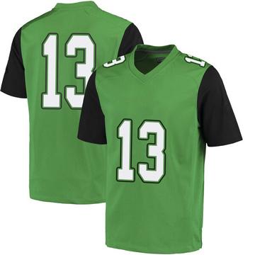 Youth Jackson White Marshall Thundering Herd Nike Replica White Green Football College Jersey