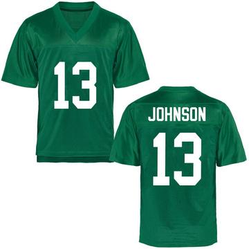 Youth Nazeeh Johnson Marshall Thundering Herd Replica Green Football College Jersey